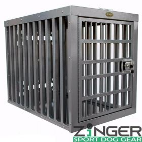 "Heavy Duty Dog Crate Series by Zinger (SELECT ZINGER HEAVY DUTY CRATE SIZE: Heavy Duty 3000 30""L x 21""W x 24""H)"