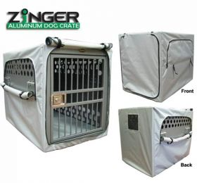 Zinger Dog Crate Cover for Zinger Heavy Duty Dog Crates (SELECT CRATE COVER SIZE: MODEL 3000 CRATE  AC-CV-3000)