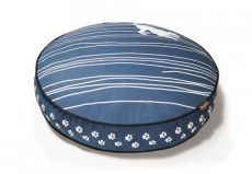 "Luxury Dog Beds Artist Collection Handmade for Comfort (SIZE SELECTION: SMALL  27.5"" DIA. X 4.5"")"