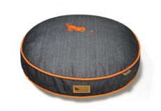Luxury Round Designer Dog Beds are Stylish and Eco Friendly (BED SIZE SELECTION: SMALL)